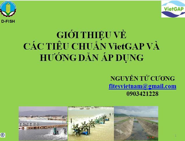 Bài giảng đánh giá viên VietGAP